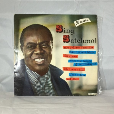 Obrázek pro Louis Armstrong With His All Stars And Orchestra - Sing, Satchmo!