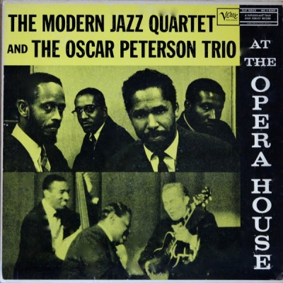 Obrázek pro Modern Jazz Quartet And The Oscar Peterson Trio - At The Opera House (LP 180G)