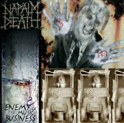 Obrázek pro Napalm Death - Enemy Of The Music Business (LP)
