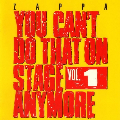 Obrázek pro Zappa Frank - You Can´t Do That On Stage Anymore Vol. 1 (2CD)